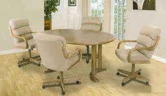 Dining Room Sets With Chairs On Casters by A M B Furniture Amp Design Dining Room From Amb