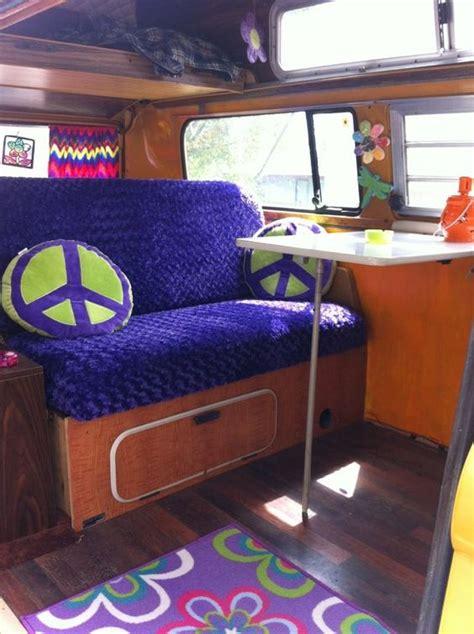 volkswagen van hippie interior interiors love and van interior on pinterest