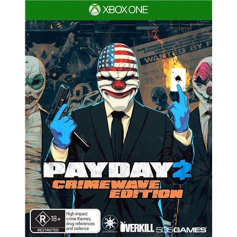 jb hi fi | payday 2 crimewave edition xbox one