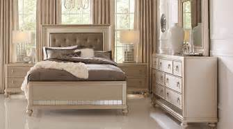 Twin Bed Bedroom Decorating Ideas sofia vergara paris silver 5 pc queen bedroom queen