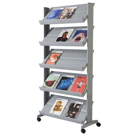 Office Magazine Racks by Xl Paperflow Model 255n Single Side Magazine Rack Office Zone 174