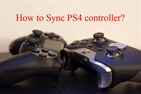 how to sync ps4 controller easy guide windows 10
