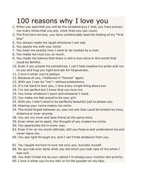 100 reasons why i love you from the dating divas 100 reasons why i love you