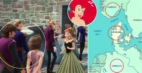 film theory elsa the secret frozen tangled mermaid connection and
