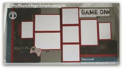 2 page scrapbook layout kits scrapbooking kits layout 2 from the teenager themed 6
