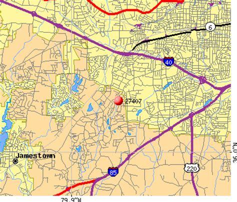 27407 zip code (greensboro, north carolina) profile