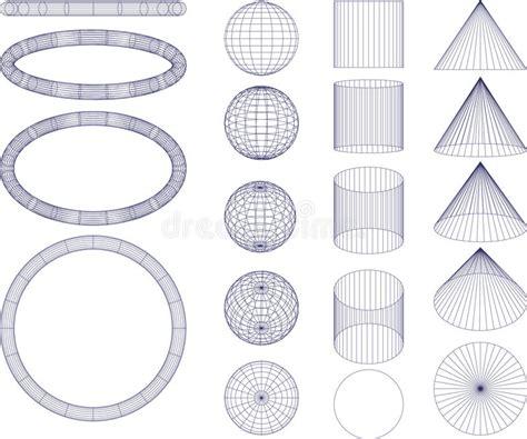 figuras geometricas vector figuras geom 233 tricas ilustraci 243 n del vector ilustraci 243 n de