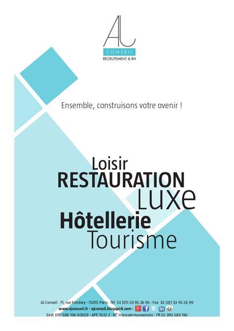 Cabinet De Recrutement Hotellerie by Cabinet De Recrutement Restauration
