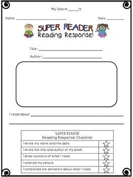 classroom response cards template 50 best images about all about reading on