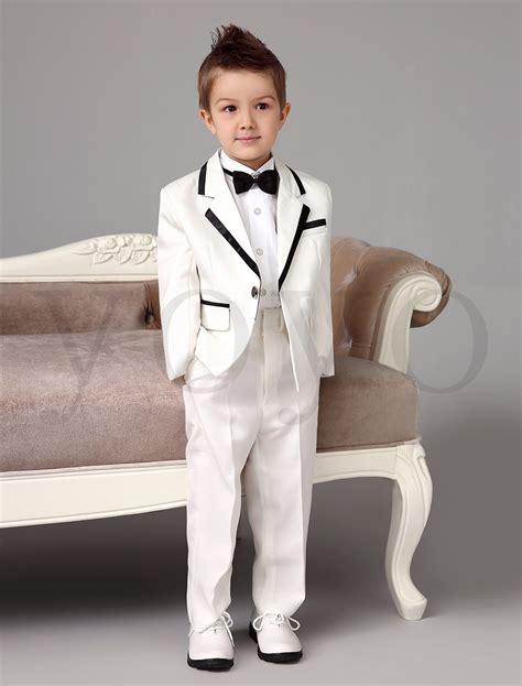 Wedding Attire For Baby Boy by 2015 Autumn New Boys White Tuxedos Wedding Attire Baby Boy