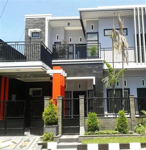 model desain rumah minimalis  lantai modern sederhana dim   simple house design
