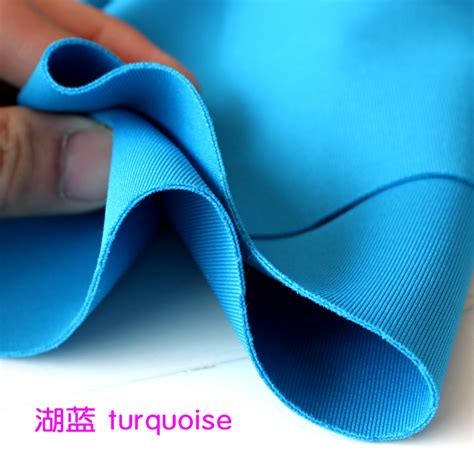 Legging Tebal aliexpress buy thick stretch spandex fabric turquoise knitted fabric stretchy jersey