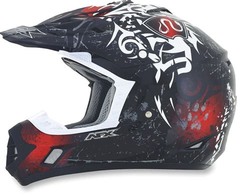 cheapest motocross gear 94 95 afx mens fx 17 danger helmet 2014 196079
