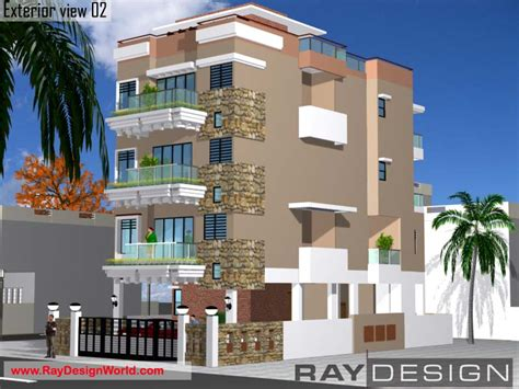 Chennai Appartments by Mr Anand Chennai Apartment View 02 Architect Org In
