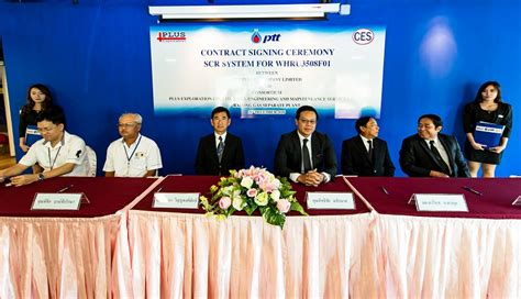 contract signing ceremony scr system  exploration
