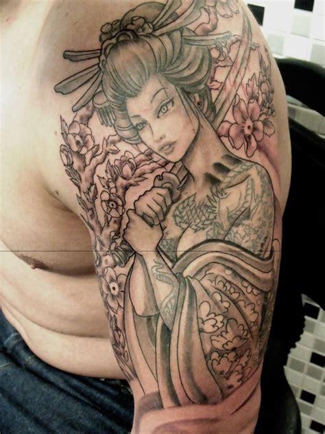 geisha tattoo no braço geisha tattoo 13 by mojoncio on deviantart