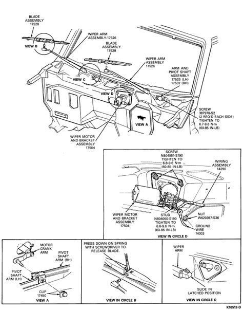 service manual how to remove wipers from a 1988 ford bronco repair guides windshield wipers