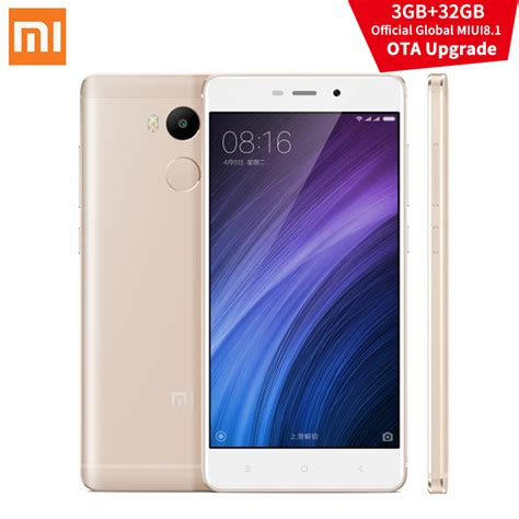 Xiaomi Redmi 3 Pro Ram 3gb Memory 32gb Ultrathin S Murah aliexpress buy original xiaomi redmi 4 pro 3gb ram 32gb rom miui8 1 ota snapdragon 625 5 0