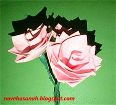 cara mudah membuat bunga dari kertas hvs kerajinan tangan bunga dari kertas yang mudah
