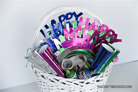 new years gift baskets new year s gift basket the crafting