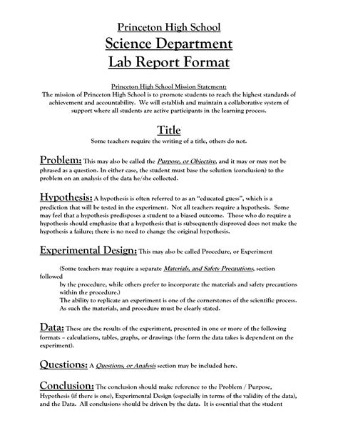 science report template ks2 science experiment report template unique science lab