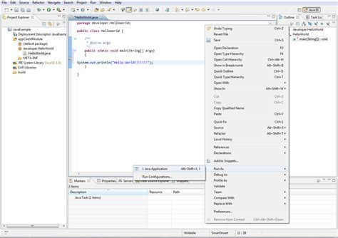 How To Check What Programs Are Running In The Background Run Hello World Exle In Eclipse How To Run Eclipse Java Exle Run Eclipse Exle