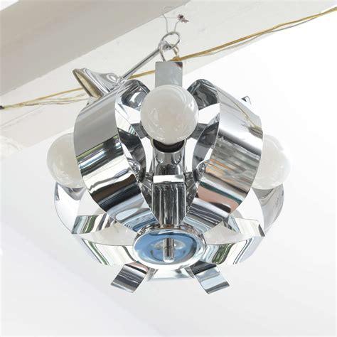 small chrome chandelier small chrome chandelier 1960s usa for sale at 1stdibs