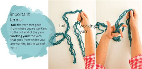 slip knot knitting store arm knitting how to photo tutorial part 1 on