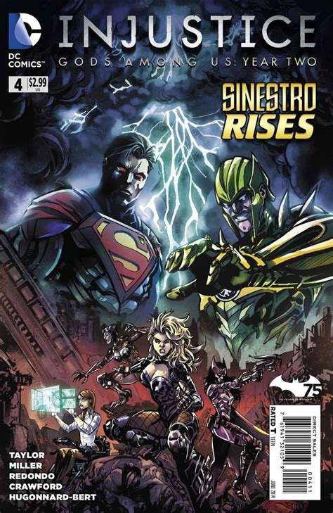 injustice year two vol 1 4 dc comics database