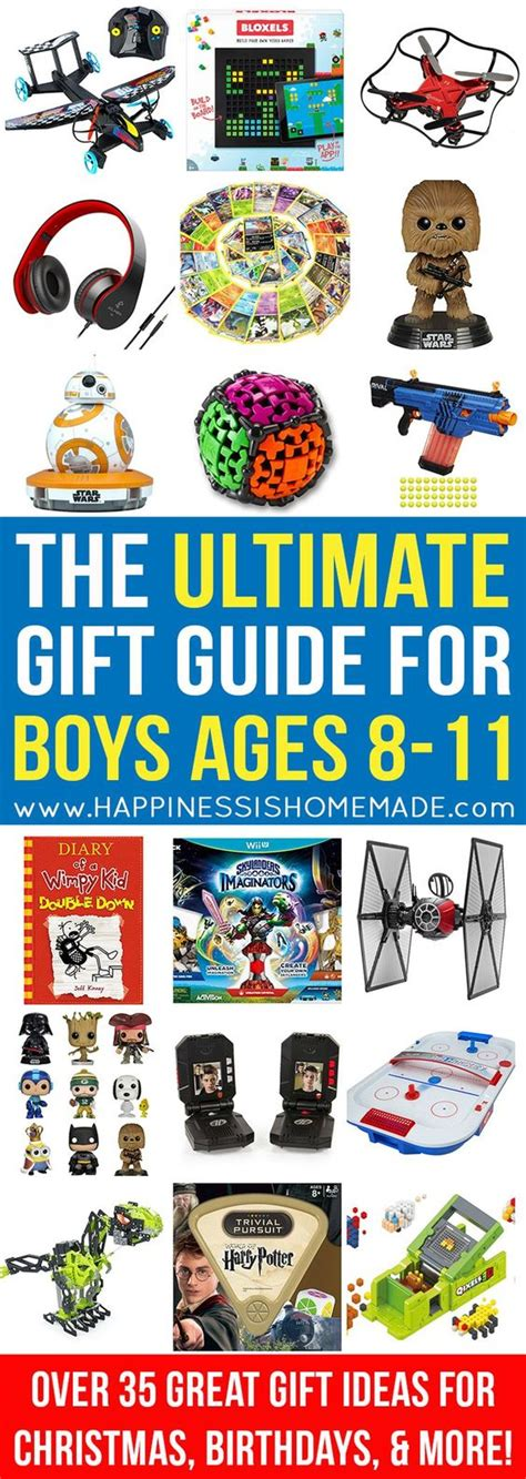 the best gift ideas for boys ages 8 11 birthdays gift
