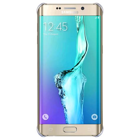 For Samsung Galaxy S6 Edge samsung glossy cover for samsung galaxy s6 edge gold expansys uk