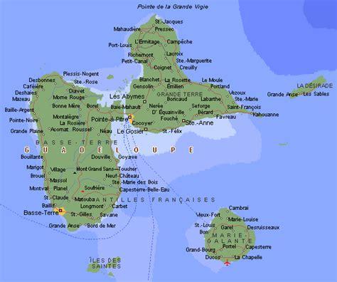 Commune Design by Carte De La Guadeloupe Images Arts Et Voyages