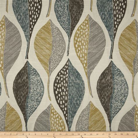 wood pattern fabric uk robert allen home woodblock leaf rain discount