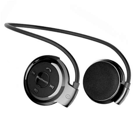 Headset Bluetooth 1 Telinga tgeth mini 503 neckband sport wireless bluetooth stereo headset headphone earphone for