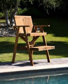lifeguard chair plans outside ideas