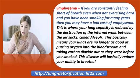 Types Of Detox Breathing by Symptoms Of Lung Disease How Smokers Can Overcome Them