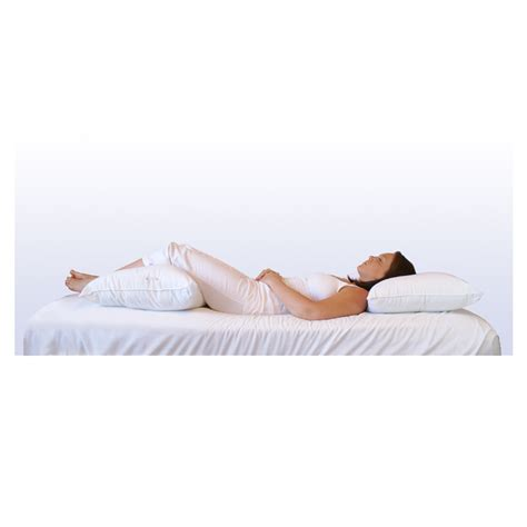 pillows for back pain in bed back pain b gone support system pillow bicor pillows