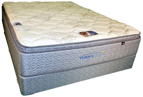 Pillow Top Mattress Back by Therapedic Mattress Pad Image Shown May Not Represent