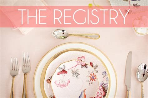 Wedding Registry Etiquette by Wedding Registry Etiquette For Soon To Be Brides Wedding