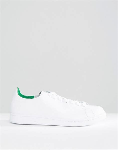 Adidas Originals Stan Smith Clean Leather Trainers S79465 Grey Shoes 3 adidas stan smith how to clean