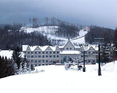 bentley brook jiminy peak ski lift for ski in ski out at resort