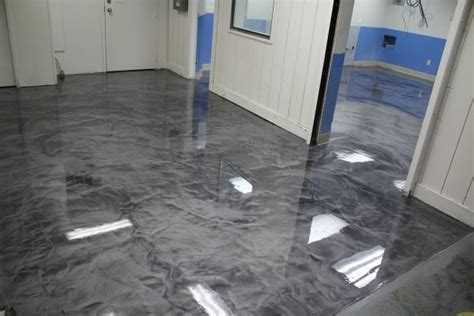 cost to epoxy basement floor he poured epoxy all his floor the end result was simply stunning