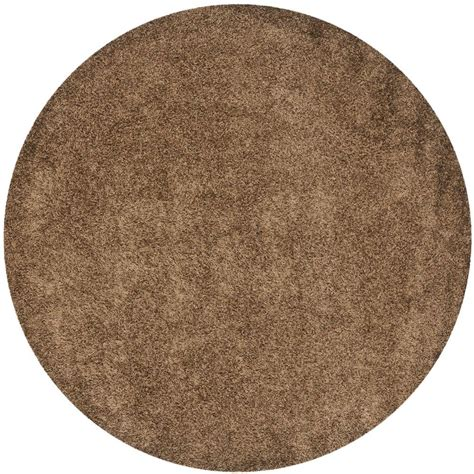 Safavieh Heritage Light Brown Grey 10 Ft X 10 Ft Round 10 Foot Rug
