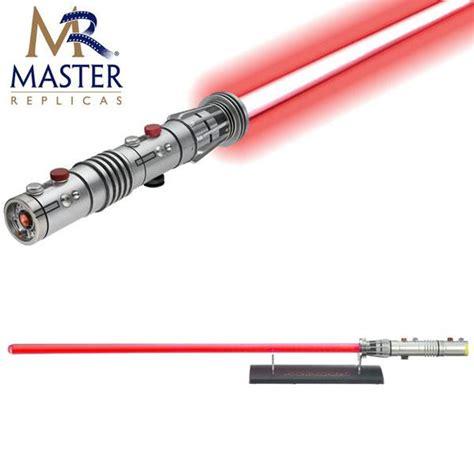master replicas fx lightsaber darth maul fx lightsaber master replicas 183 toys and