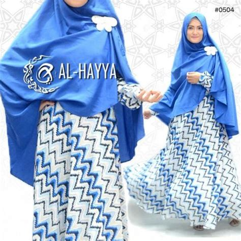 Ziggy Gamis by Gamis Modern Blue Ziggy Syari Model Baju Muslim