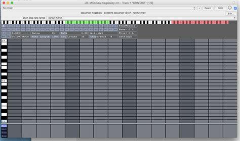 reaper drum pattern editor sequencer megababy drum map reaper edit untidy music