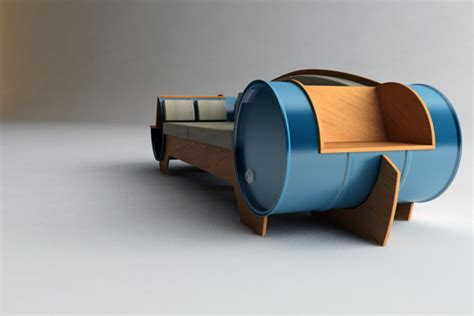 Very Fresh And Stylish Barrel Couch By Vladimir Kevreshan