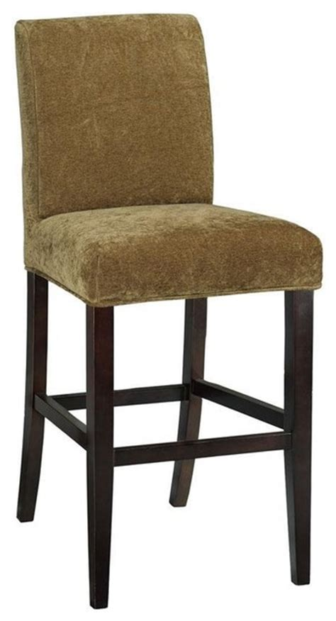 slipcovers for bar chairs parsons stool slipcover traditional bar stools and