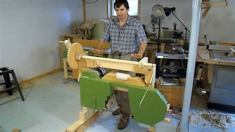 building  portable hobby sawmill wood mill bandsaw