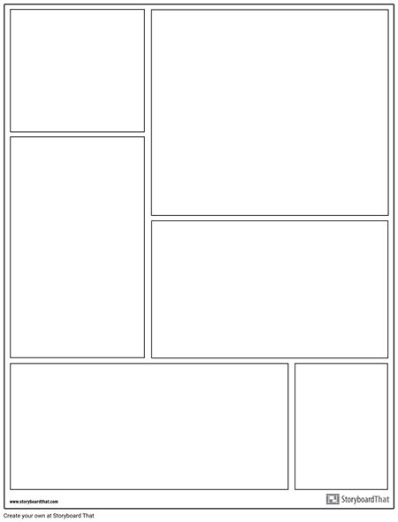 Create a Graphic Novel Template | Graphic Novel Layouts